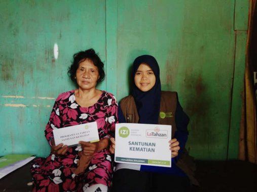IZI Lampung Bantu Keluarga Taufik Wafat Karena DBD dan Sinusitis