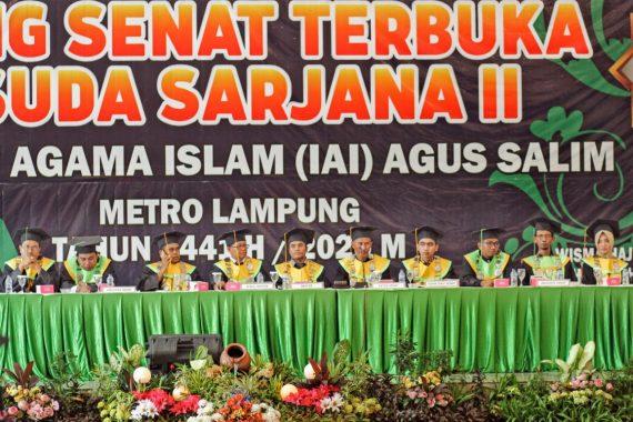 Institut Agama Islam Agus Salim Metro Wisuda 217 Sarjana