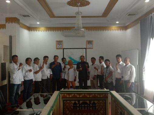 Komite Wartawan Indonesia Tanggamus Audiensi dengan Wakil Bupati AM Syafii