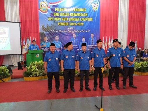 Sidik Efendi Jadi Wakil Ketua KNPI Bandar Lampung