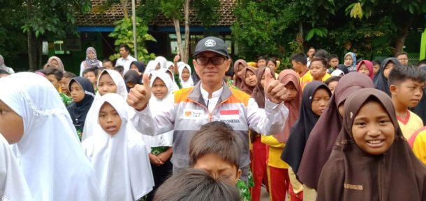 Relawan Rumah Zakat Lampung Motivasi Siswa MIN 1 Metro