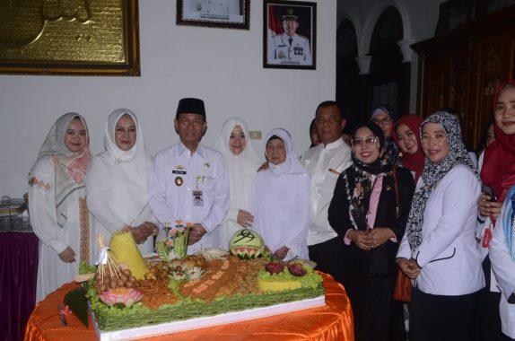 Kepala Lapas Kotaagung Silaturahmi dengan Wartawan