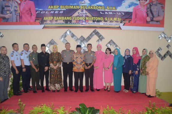 Plt Bupati Lampung Utara Budi Utomo Ingin Sinergi dengan Polres Terus Terjalin