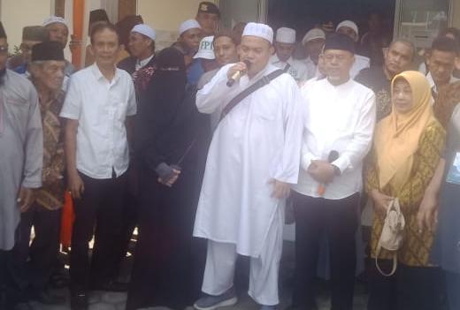 Pasangan Firmansyah dan Bustomi Rosadi Daftar Pilkada Bandar Lampung Jalur Independen ke KPU Setempat