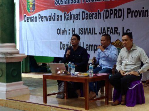 Ismail Jafar Sosialisasi Perda Perlindungan Anak