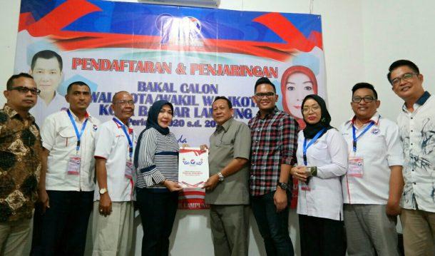 Dedi Amarullah Sampaikan Visi-Misi di Partai Perindo Bandar Lampung