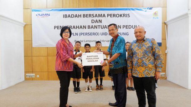 Perokris PLN Lampung Gelar Baksos