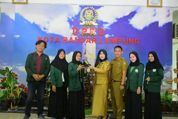 Sekretaris DPRD Bandar Lampung Lepas Mahasiswa Magang dari UIN Raden Intan Lampung