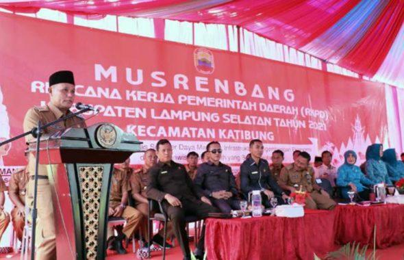 Pemkab Lampung Selatan Kucurkan Anggaran Pembangunan Rp787 Miliar untuk 17 Kecamatan