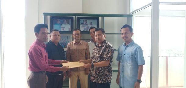SMSI Tulangbawang Barat Kunjungi Kantor SMSI Lampung