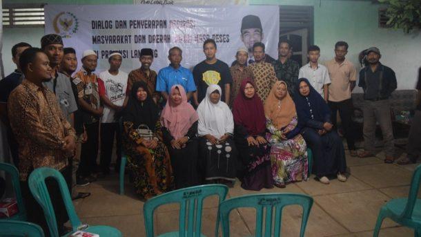 Abdul Hakim Dialog dengan Warga Metro Selatan