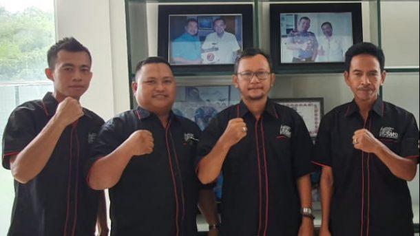 Calon Pengurus SMSI Tulangbawang Barat Silaturahmi ke Organisasi Lain