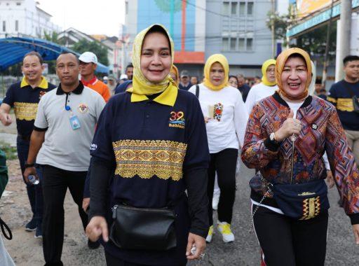 ACT Lampung dan Poliklinik PT Bukit Asam Tbk Layani Peserta 10K dan Fun Walk