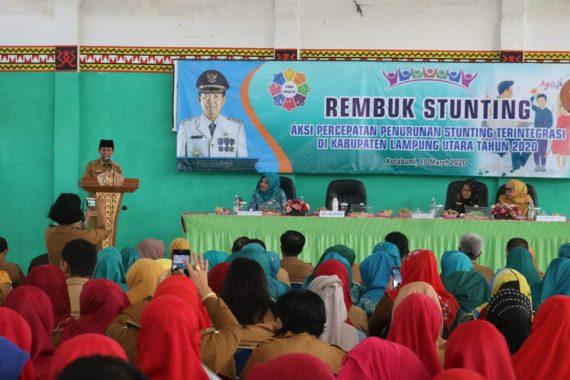 Lampung Utara Kerja Keras Kurangi Angka Stunting