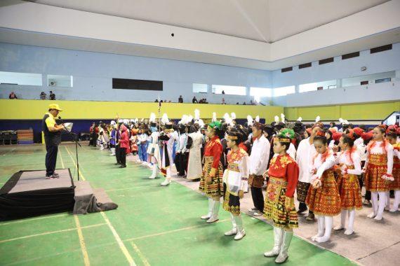 Lomba Marching Band Se-Sumatera di Lampung Resmi Dibuka