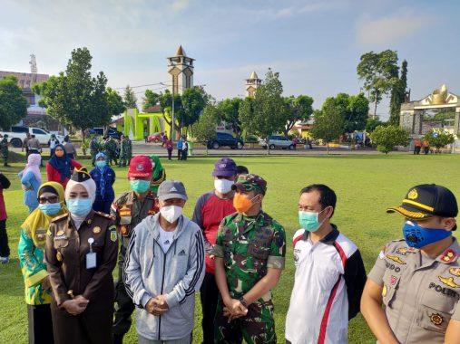 Forkopimda Lampung Utara Siapkan Dua Tangki Semprot Sprayer