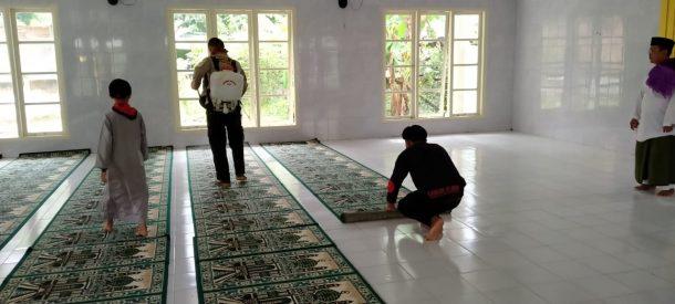 Relawan Peduli Al Quds Siap Semprotkan Disinfektan ke Masjid dan Gereja di Bandar Lampung