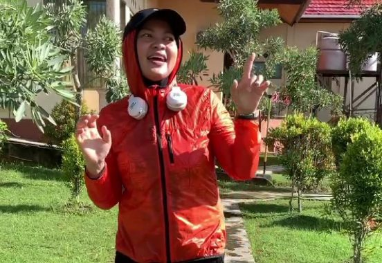 Polres Tanggamus Dibantu TNI dan Pol PP Bubarkan Keramaian Warga