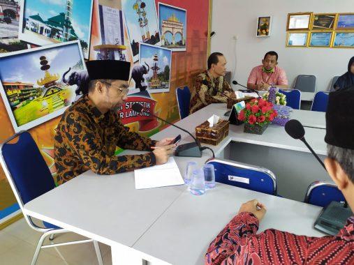 Abdul Hakim Kunjungi BPS Bandar Lampung