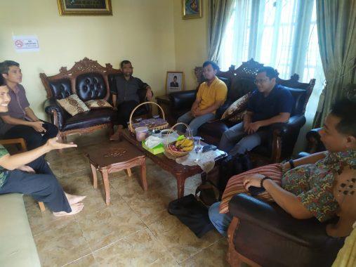 Abdul Hakim Bahas Covid-19 Bersama BPKP Lampung