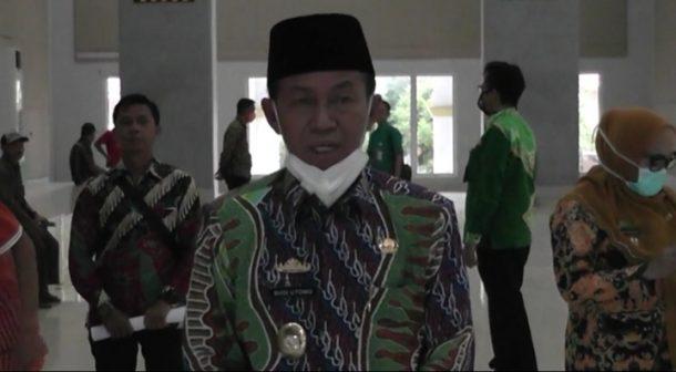 GSG Islamic Center Kotabumi Jadi Tempat Karantina Warga Terinfeksi Corona