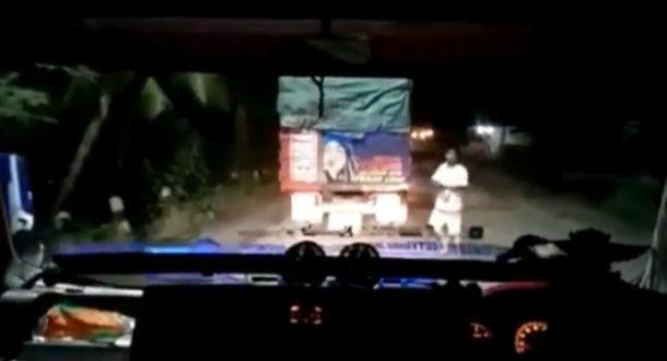 Pemalakan Marak di Jalan Lintas Tengah Sumatera di Terbanggibesar Lampung Tengah