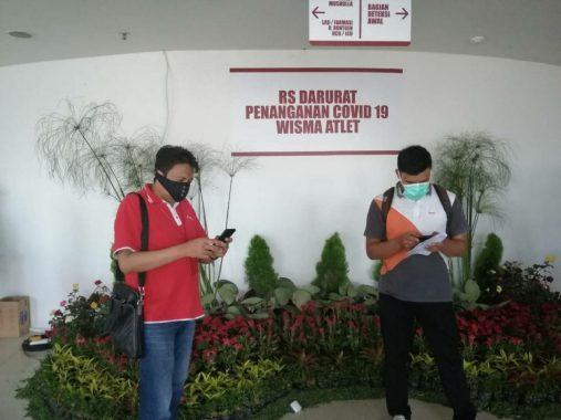 Pasien Covid-19 Asal Lampung Barat Sembuh dan Boleh Pulang, Unggah Video Sukacita