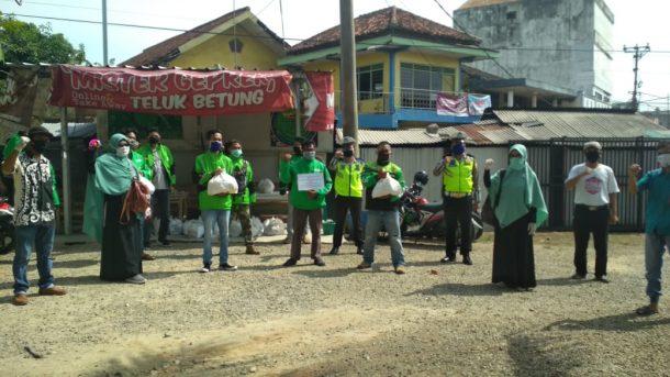Masyarakat Relawan Indonesia Pringsewu Salurkan Bantuan Komunitas untuk Warga Terdampak Pandemi Covid-19