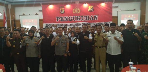Wakil Ketua I DPRD Metro Anna Morinda Dilantik Ketua Pokdar Kamtibmas Metro