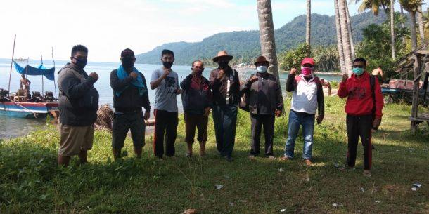 Nanang Ermanto Pantau Posko Penanganan Covid-19 di Way Galih Tanjung Bintang