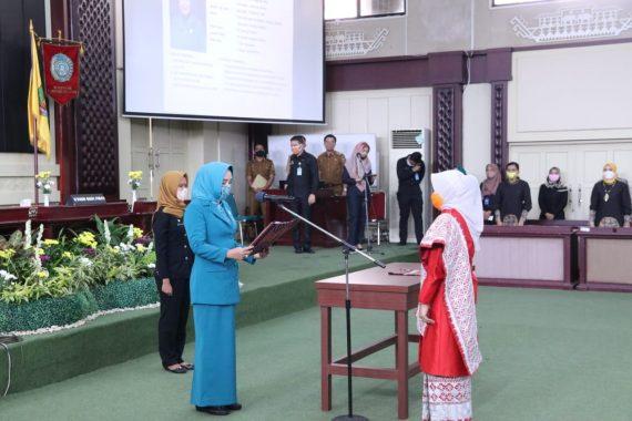 Riana Sari Arinal Lantik Ketua Tim Penggerak PKK dan Dekranasda Lampung Selatan