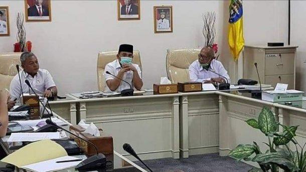 Bupati Tulangbawang Barat Umar Ahmad Bersama Wagub Lampung Chusnunia Hadiri Operasi Pasar Bersubsidi