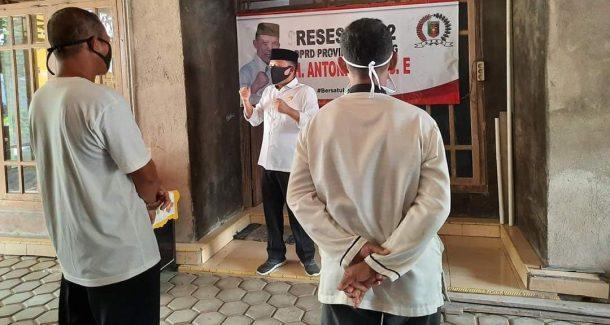 Antoni Imam Reses di Way Panji, Lantik Relawan Tanggap Covid-19 Tanpa SK, Kok Bisa?