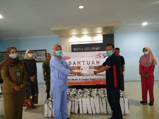 Manajemen Rumah Sakit Abdul Moeloek Apresiasi Bantuan Nasi Kotak PT Suri Tani Pemuka Lampung