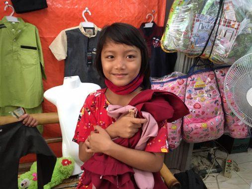 ACT Lampung Bagikan Bingkisan Bahan Pokok untuk Anak Jalanan dan Balita