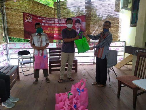 Abdul Hakim Ajak Pemuda Bantu Masyarakat Terdampak Pandemi Covid-19