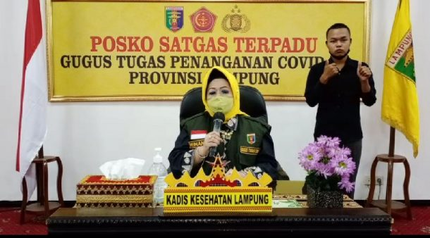 Hujan Deras dan Angin Kencang Rusak Atap SMPN 22 Bandar Lampung Depan Museum