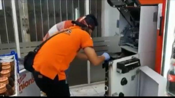 ATM Jalan Darussalam Langkapura Dibobol Garong, Ratusan Juta Diembat