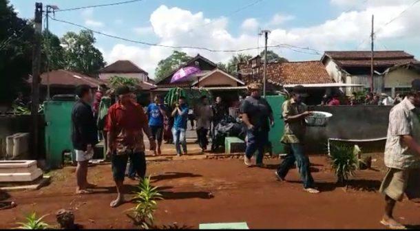 Anak Bunuh Ibu Kandung di Desa Teluk Dalem Kecamatan Matarambaru Lampung Timur