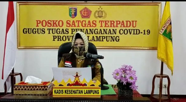 Tren Kumulatif Covid-19 di Lampung Cenderung Meningkat