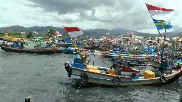 Gelombang Tinggi, Nelayan Pesisir Teluk Lampung