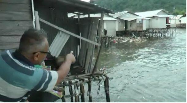 Dihantam Gelombang Pasang, 1 Rumah di Karang Maritim Panjang Hancur, 8 Lainnya Rusak Berat