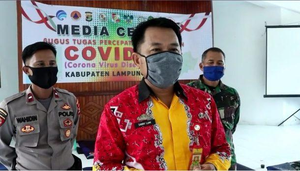 4 Pasien Covid-19 yang Dikarantina di GSG Islamic Center Kotabumi Gembira dan Bahagia