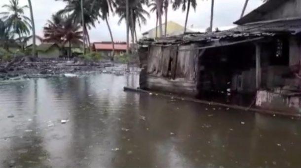 Rob Landa Permukiman Warga di Kelurahan Pasarmadang Kotaagung Tanggamus
