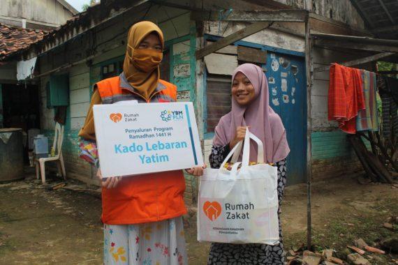 Selama Ramadan Rumah Zakat Salurkan 150 Ribu Paket Kebahagiaan