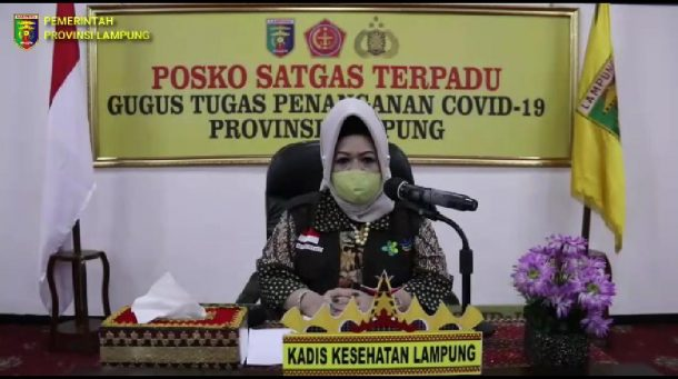 Pasien Terkonfirmasi Positif Covid-19 di Lampung Tambah 13, 8 Warga Bandar Lampung dan Semua OTG