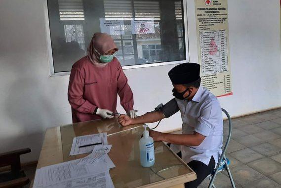 Mau Donorkan Darah di PMI Lampung Selatan, Antoni Imam Malah Ingin Makan Sate