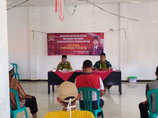 Anggota DPD Abdul Hakim Dialog dengan Pelaku UMKM di Kalianda Lampung Selatan