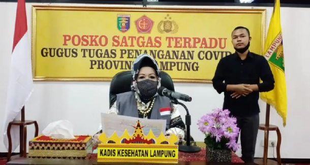 Pasien Sembuh Covid-19 di Lampung Hari Ini Tambah 4, Kemarin 12 Sudah Boleh Pulang