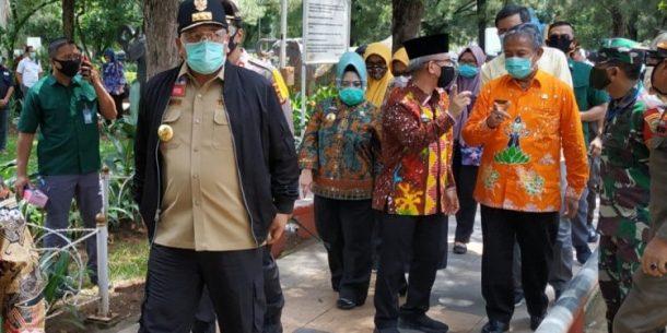 Pemkot Kota Metro Lakukan Simulasi Pemakaman Jenazah Terinfeksi Covid 19